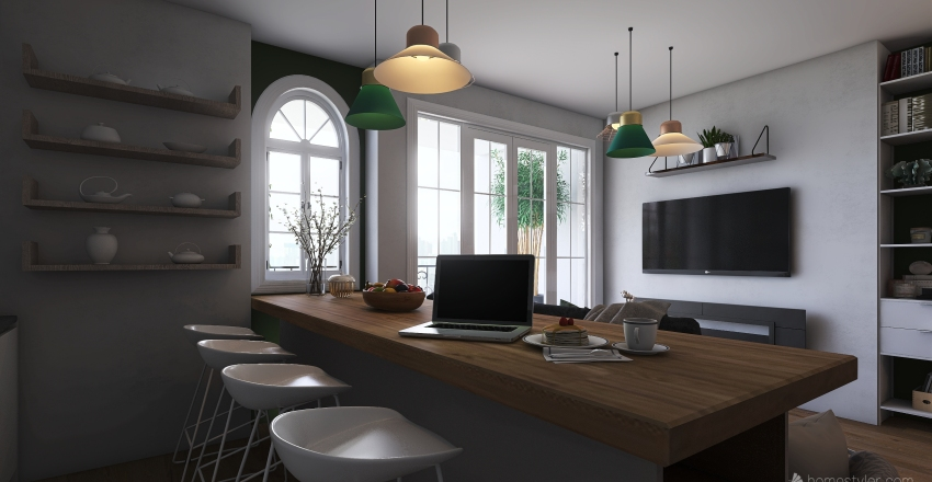 Dreamy home Interior Design Render