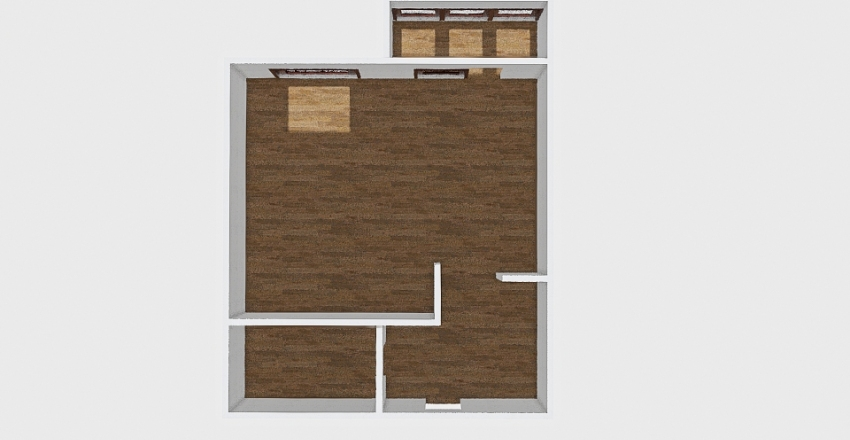 1-комн_0432 Interior Design Render