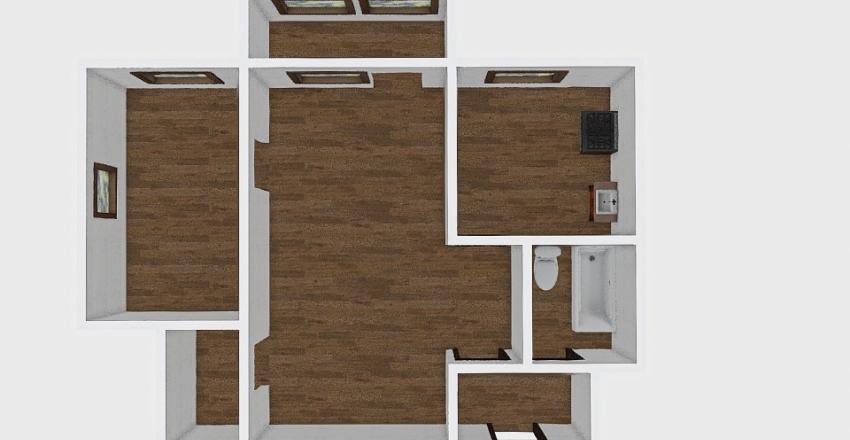 2-комн_001_14 Interior Design Render