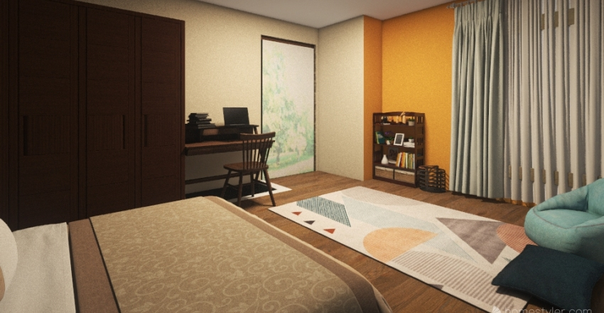 Habitación Final Interior Design Render