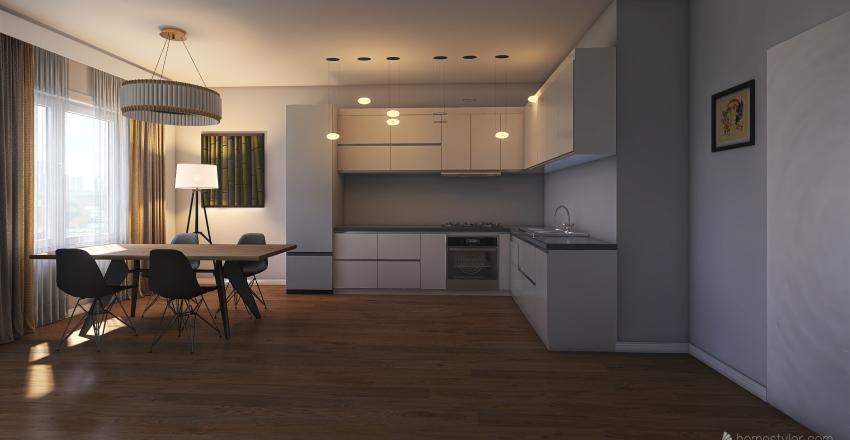 СТоловая Interior Design Render