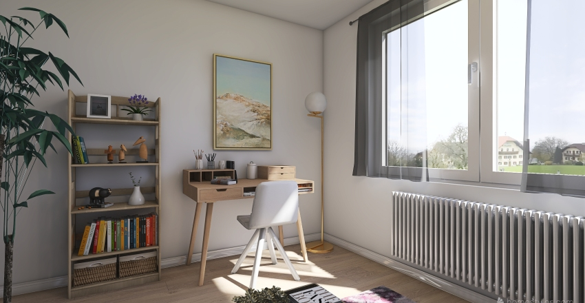 My perfect home Interior Design Render