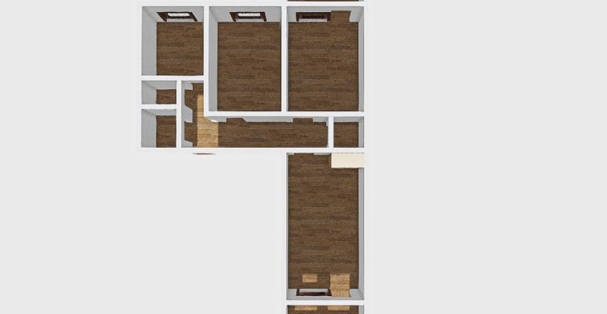 3-комн_0377 Interior Design Render
