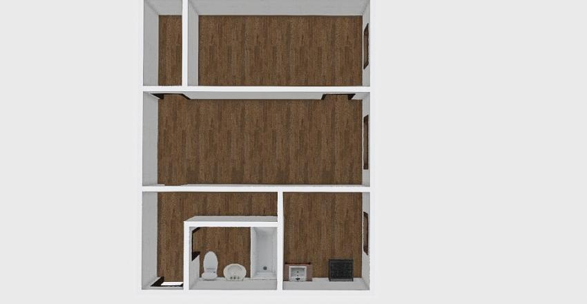 2-комн_001_56 Interior Design Render