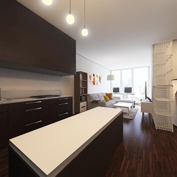 Small condo in Toronto Interior Design Render