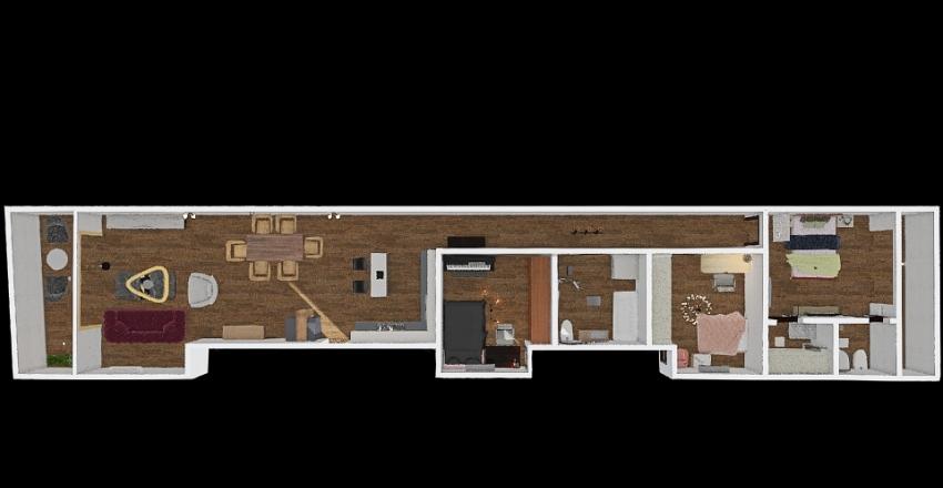 zcc电 Interior Design Render
