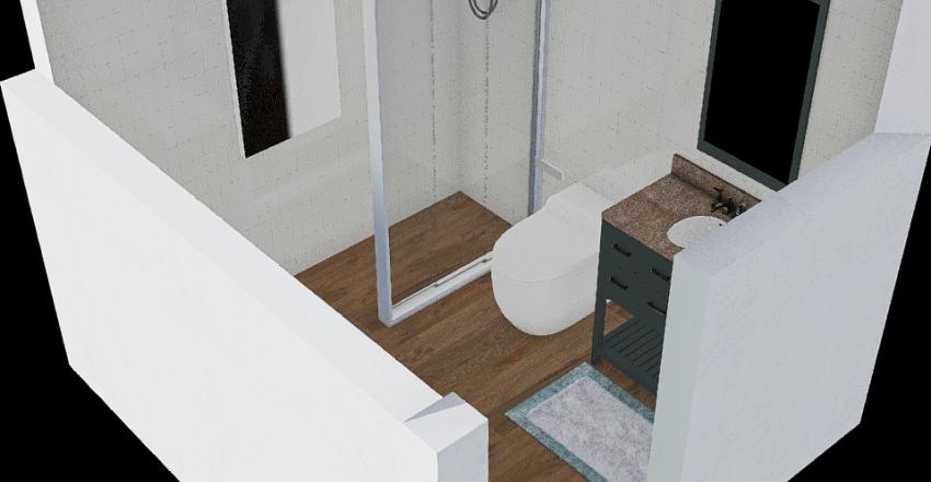 Tadeuszów łazienka Interior Design Render