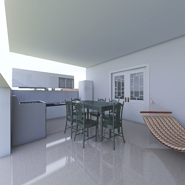 CASA FAZENDA Interior Design Render