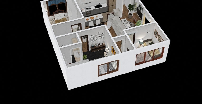 CARANDANG.FLOORPLAN Interior Design Render