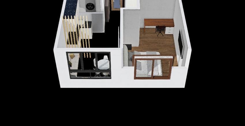 туш 14кв Interior Design Render