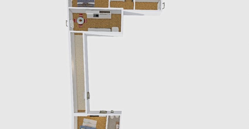 VIA FOSSALTA Interior Design Render