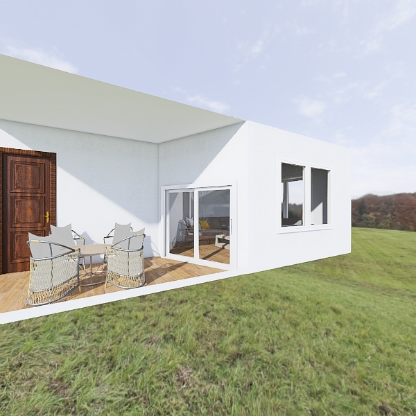 Gartenhaus Interior Design Render