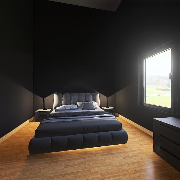 Dachgeschoss Interior Design Render