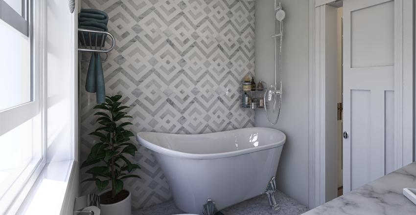 Small family apartment Interior Design Render