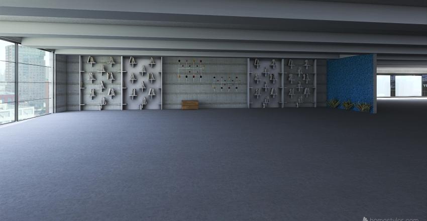 Minimalist Concept #1 Interior Design Render