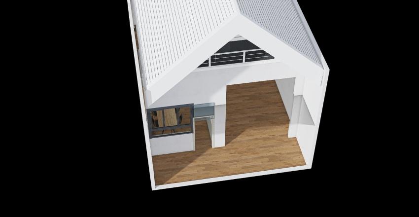 Maintainance house Interior Design Render