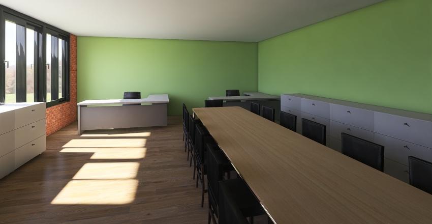 Sala Profesores Anterior Interior Design Render