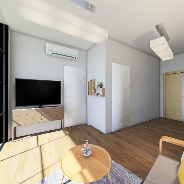 Condo 38 SQ.M Interior Design Render