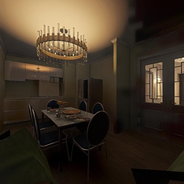 Престиж Балжан 3 х Есентай Interior Design Render