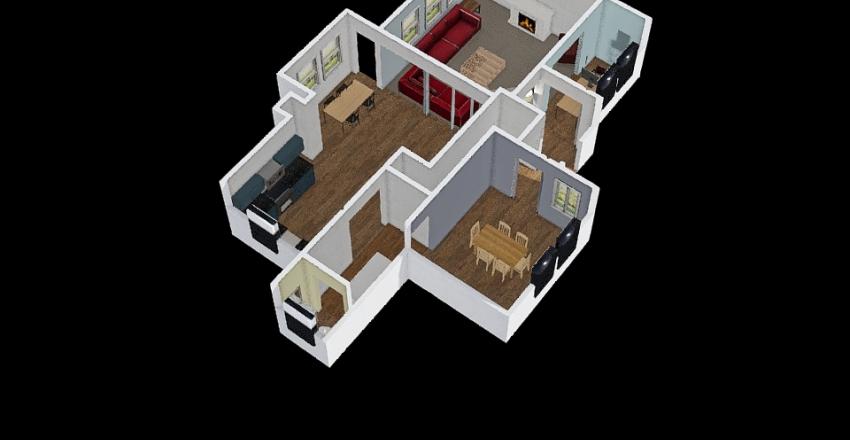 My floor Plan Interior Design Render
