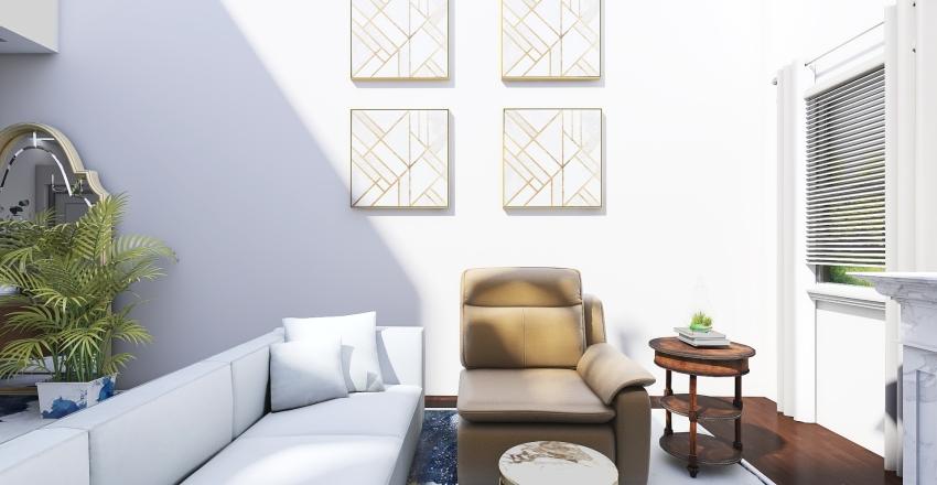 Leigh's Chosen Floor plan Interior Design Render