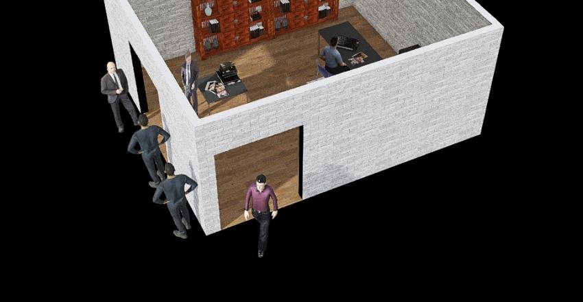 2do diseño Interior Design Render