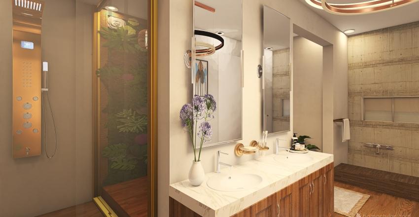Ablution, Toilet & Bath Interior Design Render