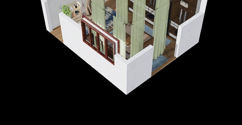 Casa nova da Carla Vista Interior Design Render