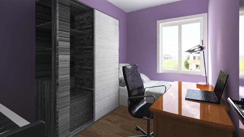 Pokoik anitki Interior Design Render