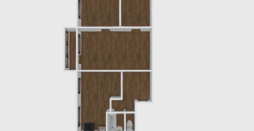 3-комн_0177_7 Interior Design Render