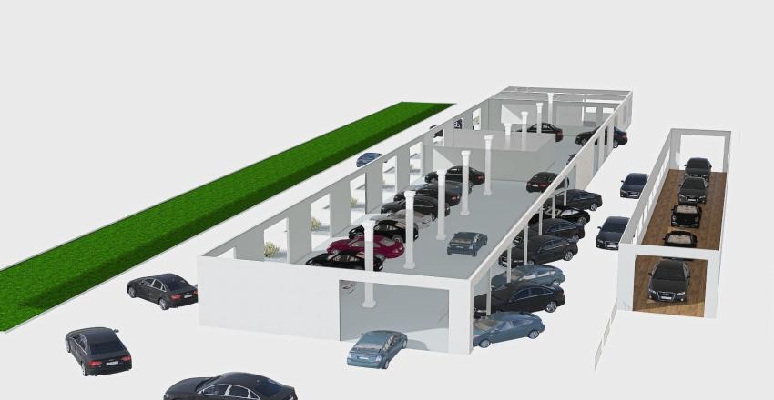 SEDE SUD Interior Design Render