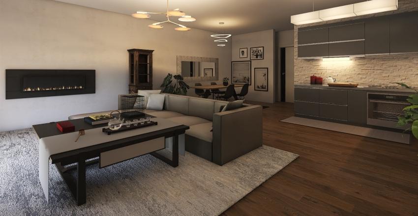 PANAGOULIFLOOR APARTMENT Interior Design Render
