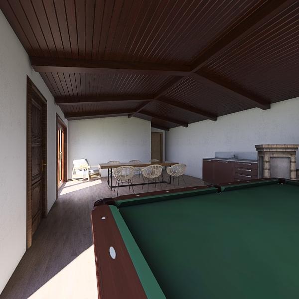 parrilla Interior Design Render