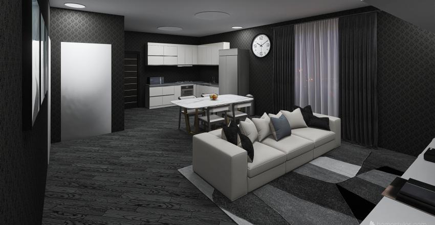 Home Alone Interior Design Render