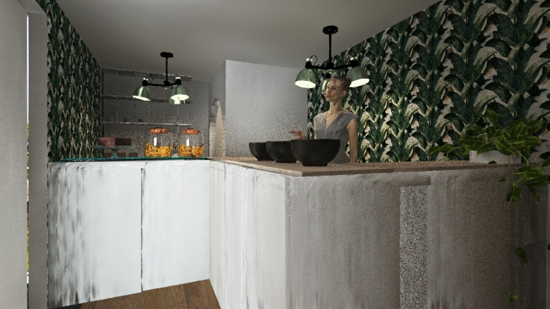 Loja PopUp Interior Design Render