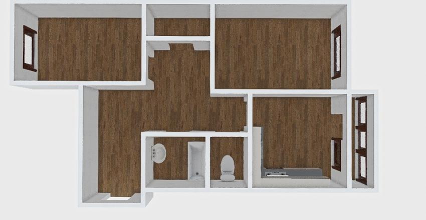 2-комн_0412 Interior Design Render