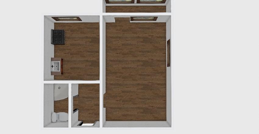 1-комн_003_4 Interior Design Render