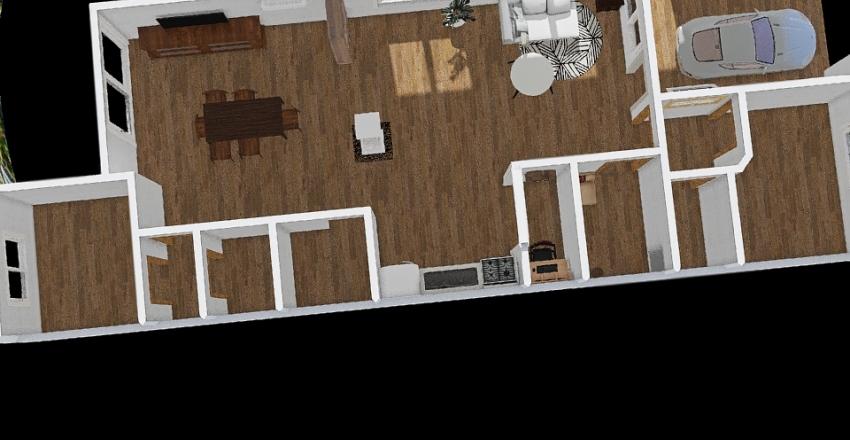plano casa Laura  Interior Design Render