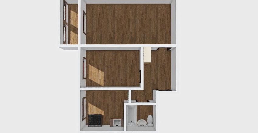 2-комн_001_57 Interior Design Render