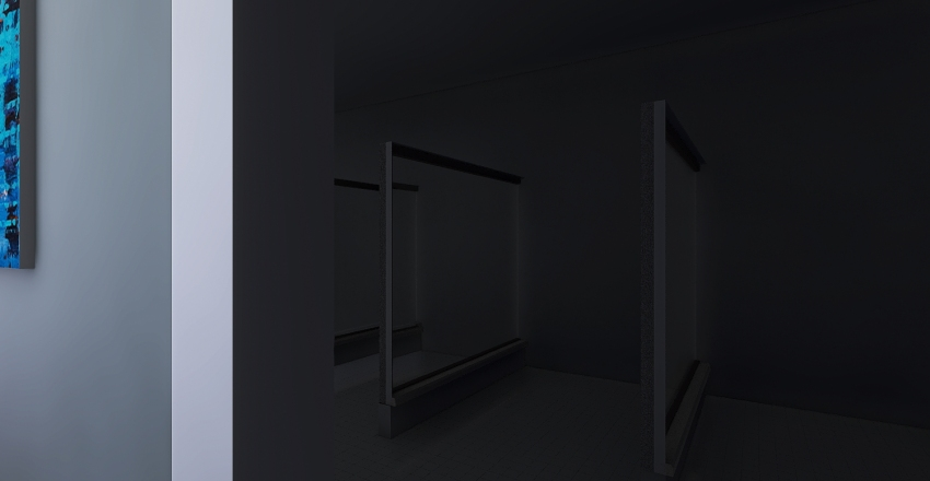 clinica odonto Interior Design Render