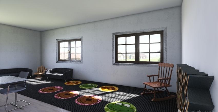 Classroom 2 Interior Design Render
