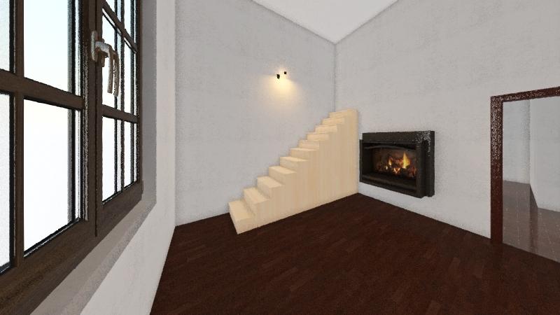 Soriano 1386 unit 103 Interior Design Render