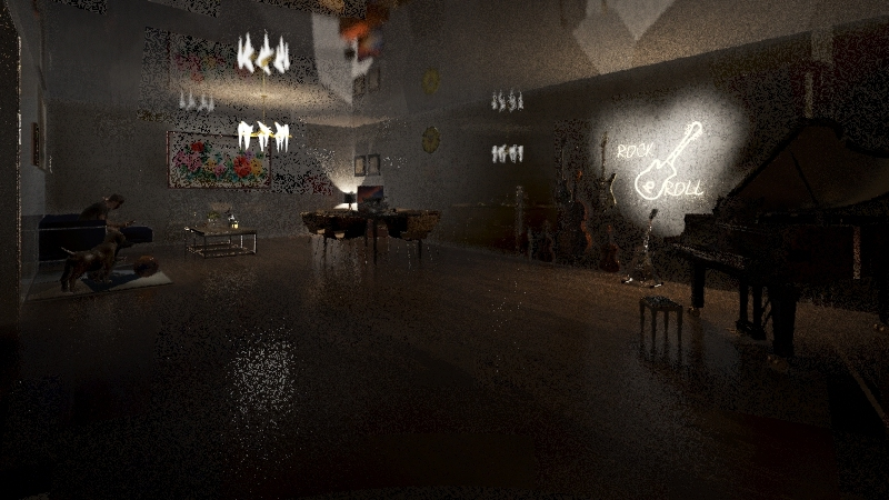 this is how to house. and dog ;) Interior Design Render