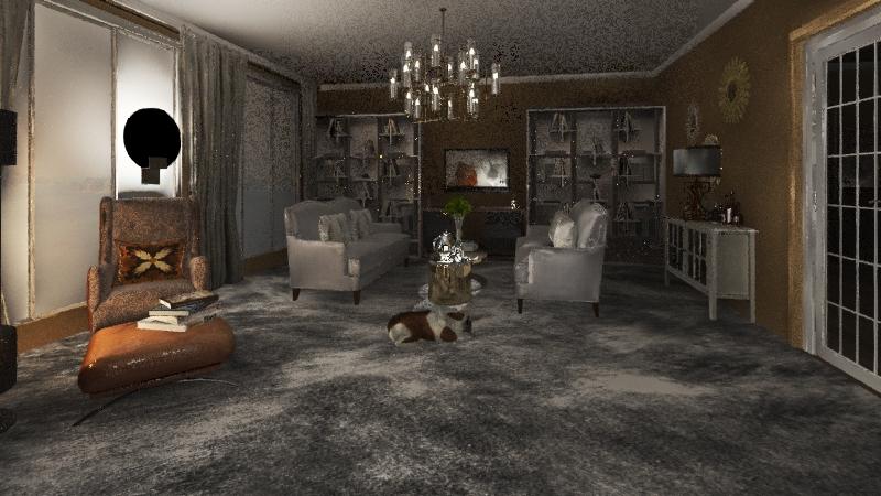 чистовой проект  Interior Design Render
