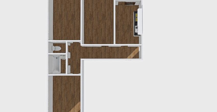 Комнаты_016 Interior Design Render