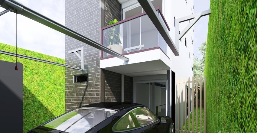 HOUSE - HACIA ARRIBA Interior Design Render