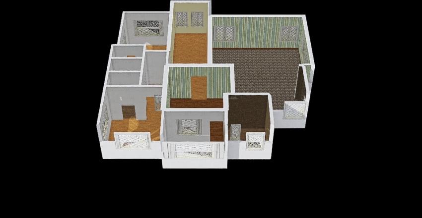 Nderi Ground floor plan Interior Design Render