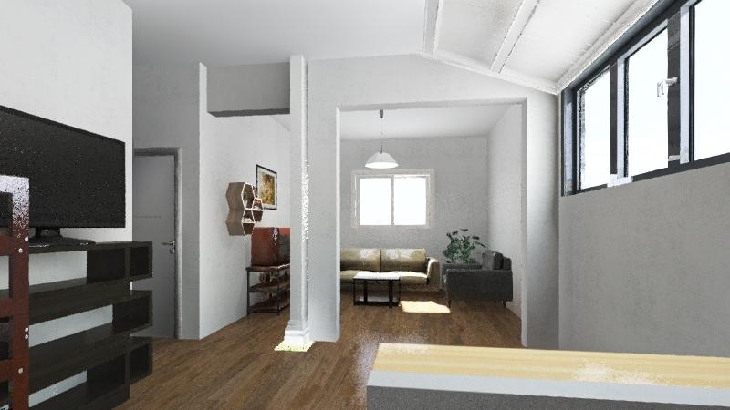 Proyecto Riglos Interior Design Render