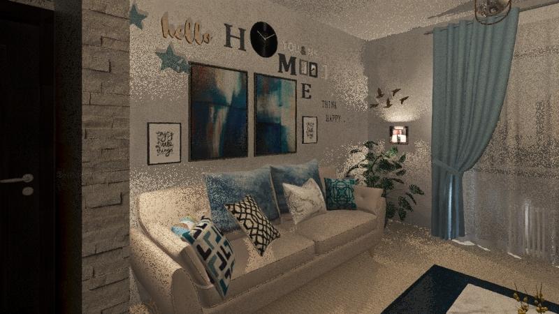Sea vibe-living Interior Design Render