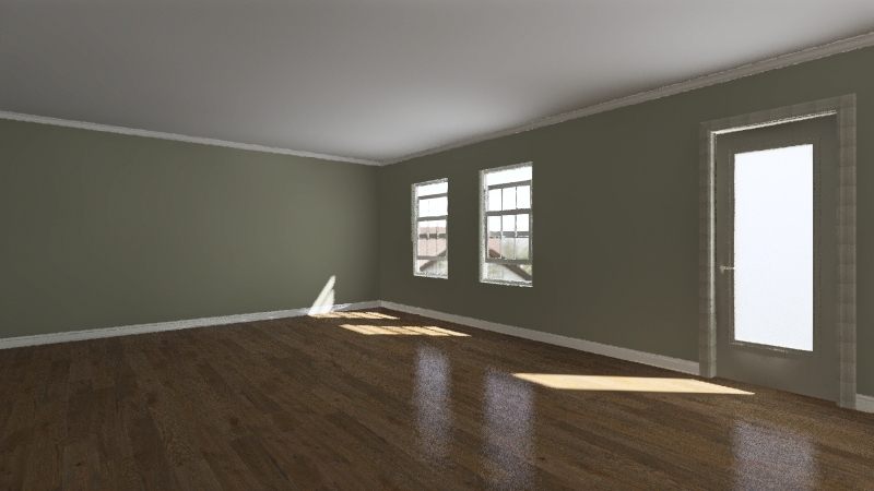hill basement Interior Design Render